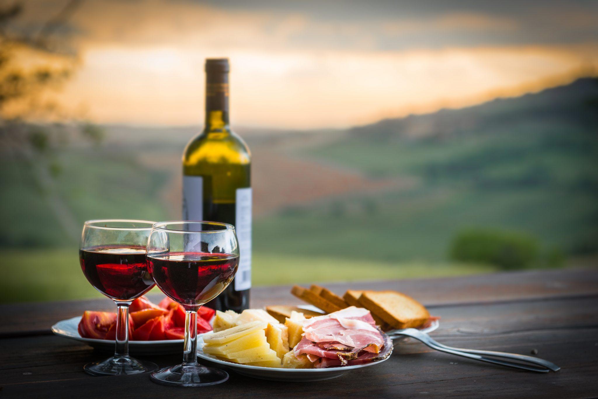 Picnic Chic vigna enoturismo vino