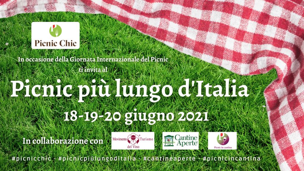 Picnic più lungo d'Italia enoturismo - Picnic Chic