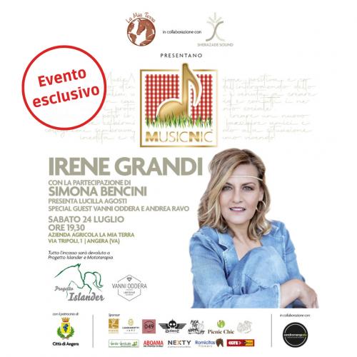 MusicNic con Irene Grandi Picnic Chic